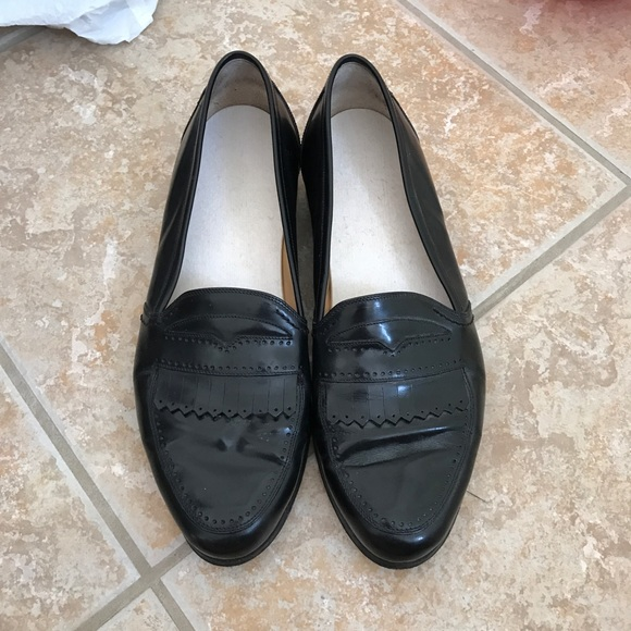 b27b0e5545dbf men's vintage bally black loafers shoes size 10